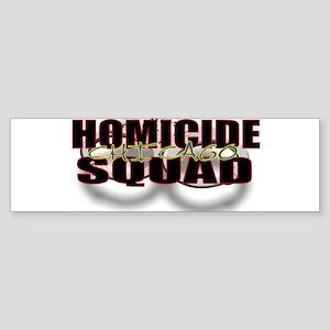 HOMICIDECHIC Sticker (Bumper)
