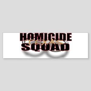 HOMICIDETEXAS Sticker (Bumper)