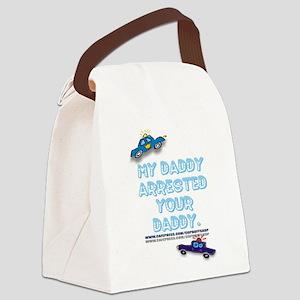 MYDADDYARRESTED Canvas Lunch Bag