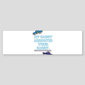 MYDADDYARRESTED Sticker (Bumper)