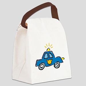 LITTLECAR1 Canvas Lunch Bag
