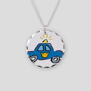 LITTLECAR1 Necklace Circle Charm