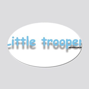 littletrooperblue.jpg 20x12 Oval Wall Decal