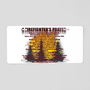 FIRE2 Aluminum License Plate