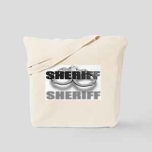 CUFFSSHERIFF Tote Bag