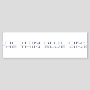THINBLUELINE Sticker (Bumper)