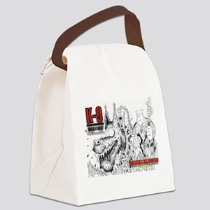 K9 UNLEASHED Canvas Lunch Bag