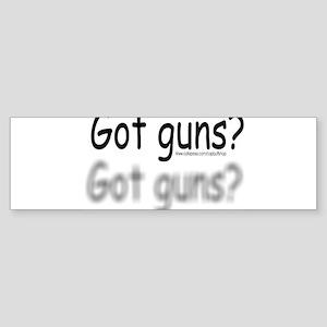 gotguns Sticker (Bumper)