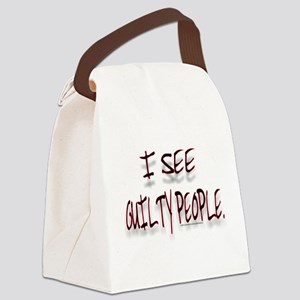 XXGUILTY Canvas Lunch Bag