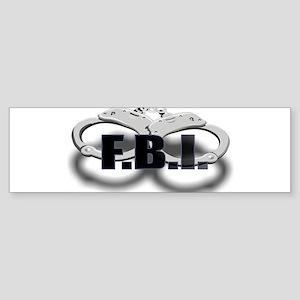 FBI1 Sticker (Bumper)