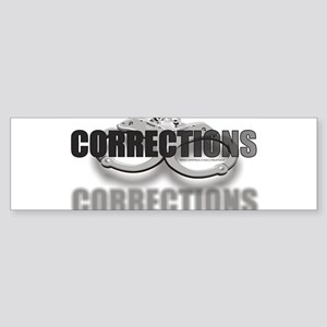 CUFFSCORRECTIONS Sticker (Bumper)