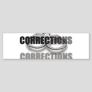 CUFFSCORRECTIONS Sticker (Bumper)
