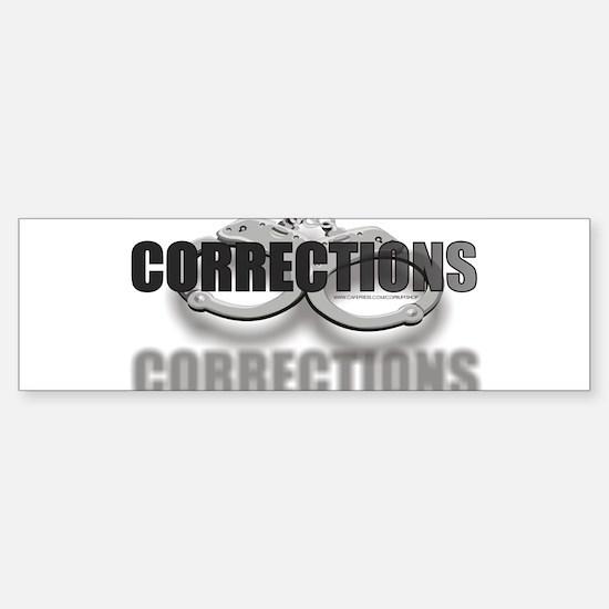 CUFFSCORRECTIONS.jpg Sticker (Bumper)