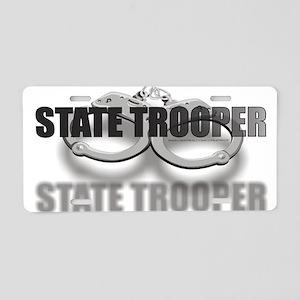 CUFFSSTATETROOPER Aluminum License Plate