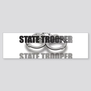 CUFFSSTATETROOPER Sticker (Bumper)
