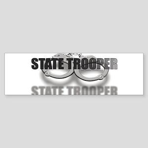 CUFFSSTATETROOPER Sticker (Bumper)