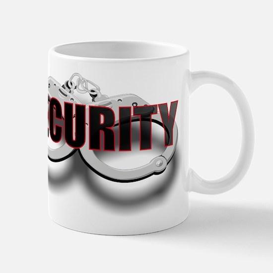 SECURITY. FRONT/BACK Mug