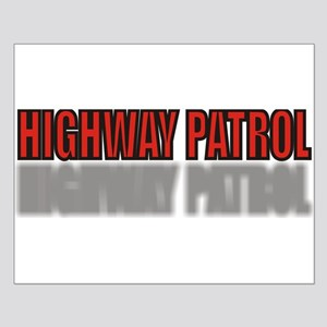 HIGHWAYPATROLRED Small Poster