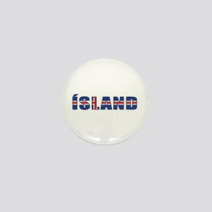 Iceland Mini Button