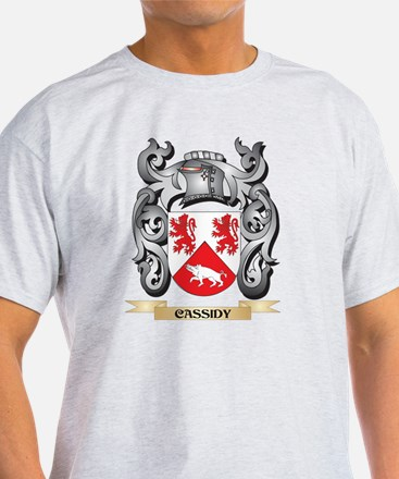 Cassidy Family Crest - Cassidy Coat of Arm T-Shirt