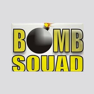 BOMBSQUADYELLOWBOMB Rectangle Magnet