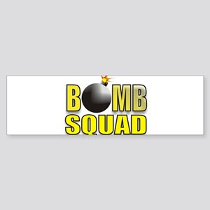 BOMBSQUADYELLOWBOMB Sticker (Bumper)