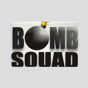 BOMBSQUADBLACKBOMB Rectangle Magnet