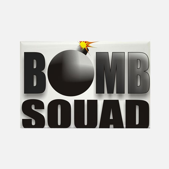 BOMBSQUADBLACKBOMB.jpg Rectangle Magnet