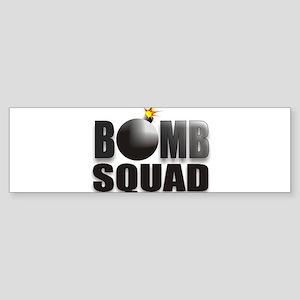 BOMBSQUADBLACKBOMB Sticker (Bumper)