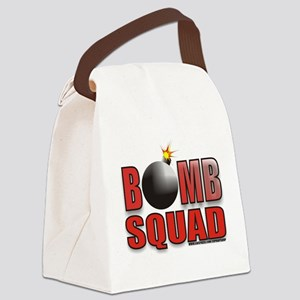 BOMBSQUADREDBOMB Canvas Lunch Bag