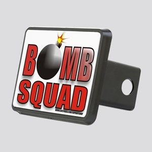 BOMBSQUADREDBOMB Rectangular Hitch Cover