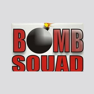 BOMBSQUADREDBOMB Rectangle Magnet