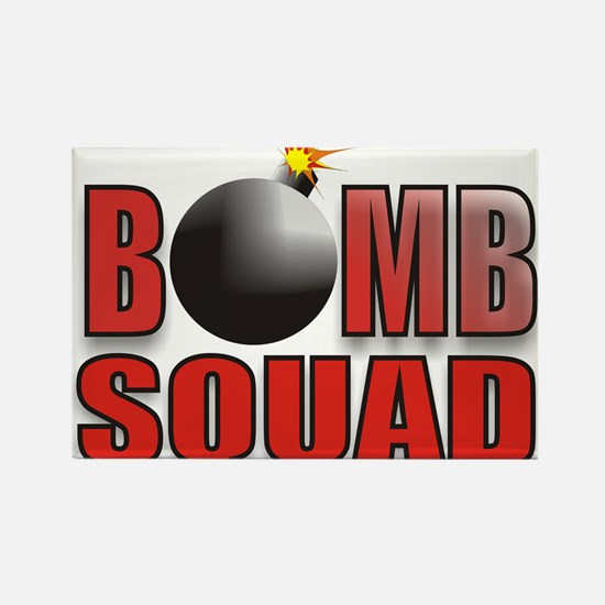 BOMBSQUADREDBOMB.jpg Rectangle Magnet