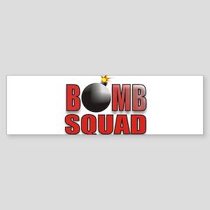 BOMBSQUADREDBOMB Sticker (Bumper)