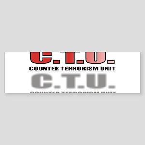 CTU3 Sticker (Bumper)