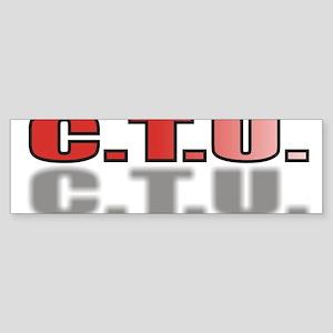 CTU2.jpg Sticker (Bumper)