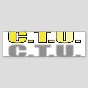 CTU5 Sticker (Bumper)