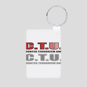 CTU3 Aluminum Photo Keychain