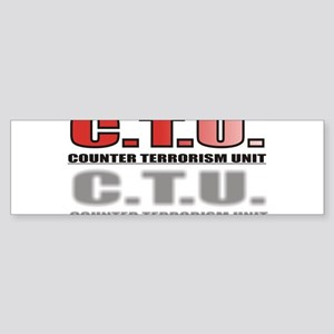 CTU3 Sticker (Bumper)