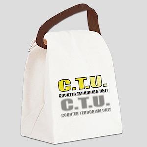 CTU Canvas Lunch Bag