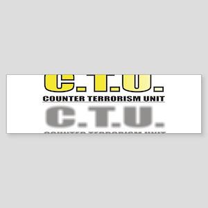 CTU Sticker (Bumper)