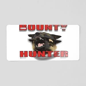 BOUNTYHUNTER3 Aluminum License Plate