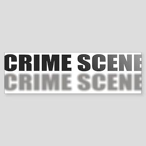 CRIMESCENE Sticker (Bumper)