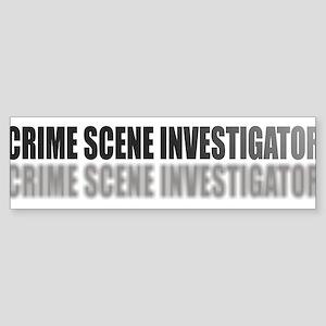 CRIMESCENEINVESTIGATOR Sticker (Bumper)