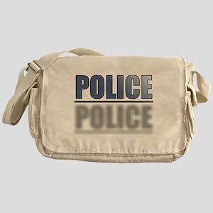 POLICEBLUE1 Messenger Bag