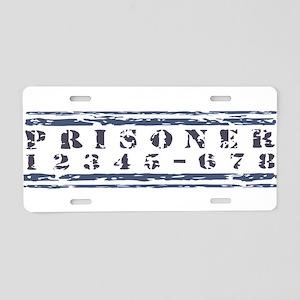 prison2 Aluminum License Plate