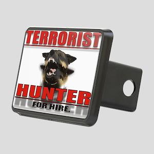 TERRORIST HUNTER Rectangular Hitch Cover