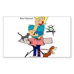 Busy Mom Sticker (Rectangle 10 pk)
