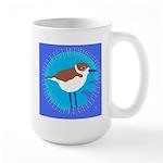 snowy plover Large Mug