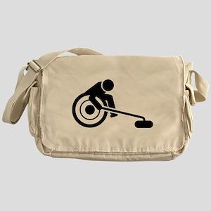 Wheelchair Curling Messenger Bag